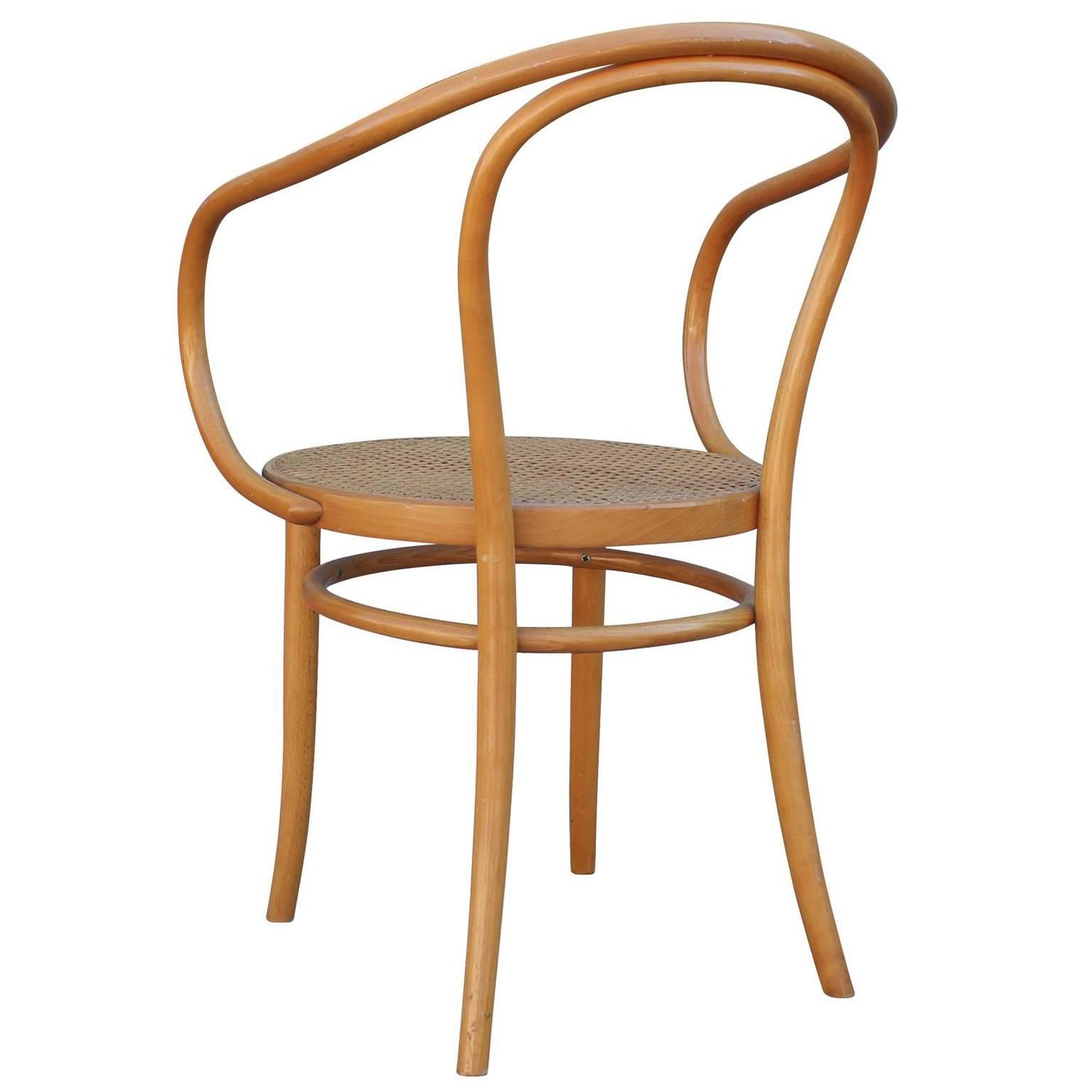 bent wood dining chairs gaming chair amazon set of six thonet 209 bentwood and cane at