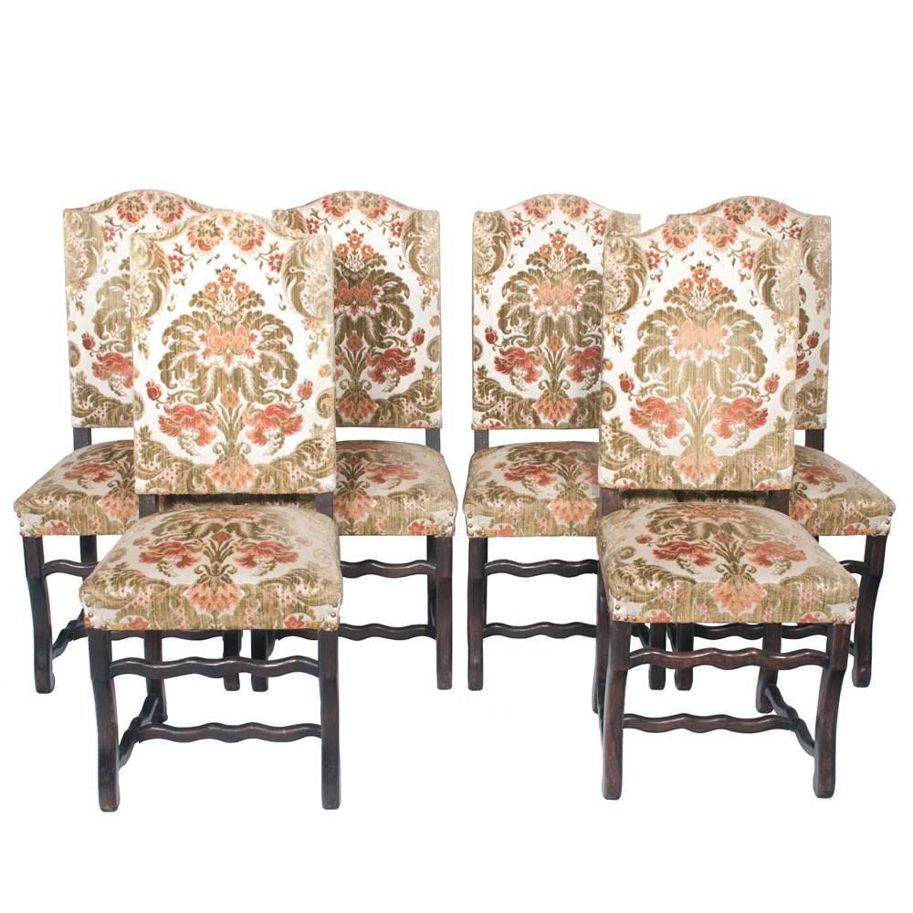 Country French Dining Chairs S6 At 1stdibs