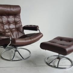 Stressless Chair Similar Swivel Bar Chairs Brown Leather Ekornes Lounge With Ottoman 1960