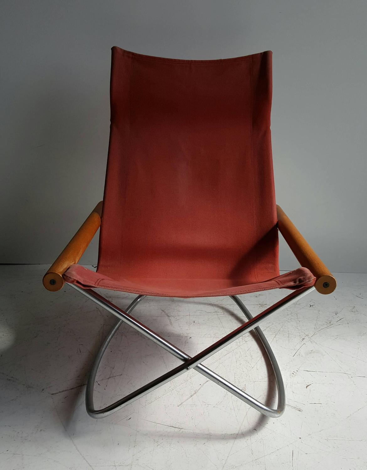 Folding Rocking Chairs Takeshi Nii Quotny Quot Folding Rocking Chair For Sale At 1stdibs