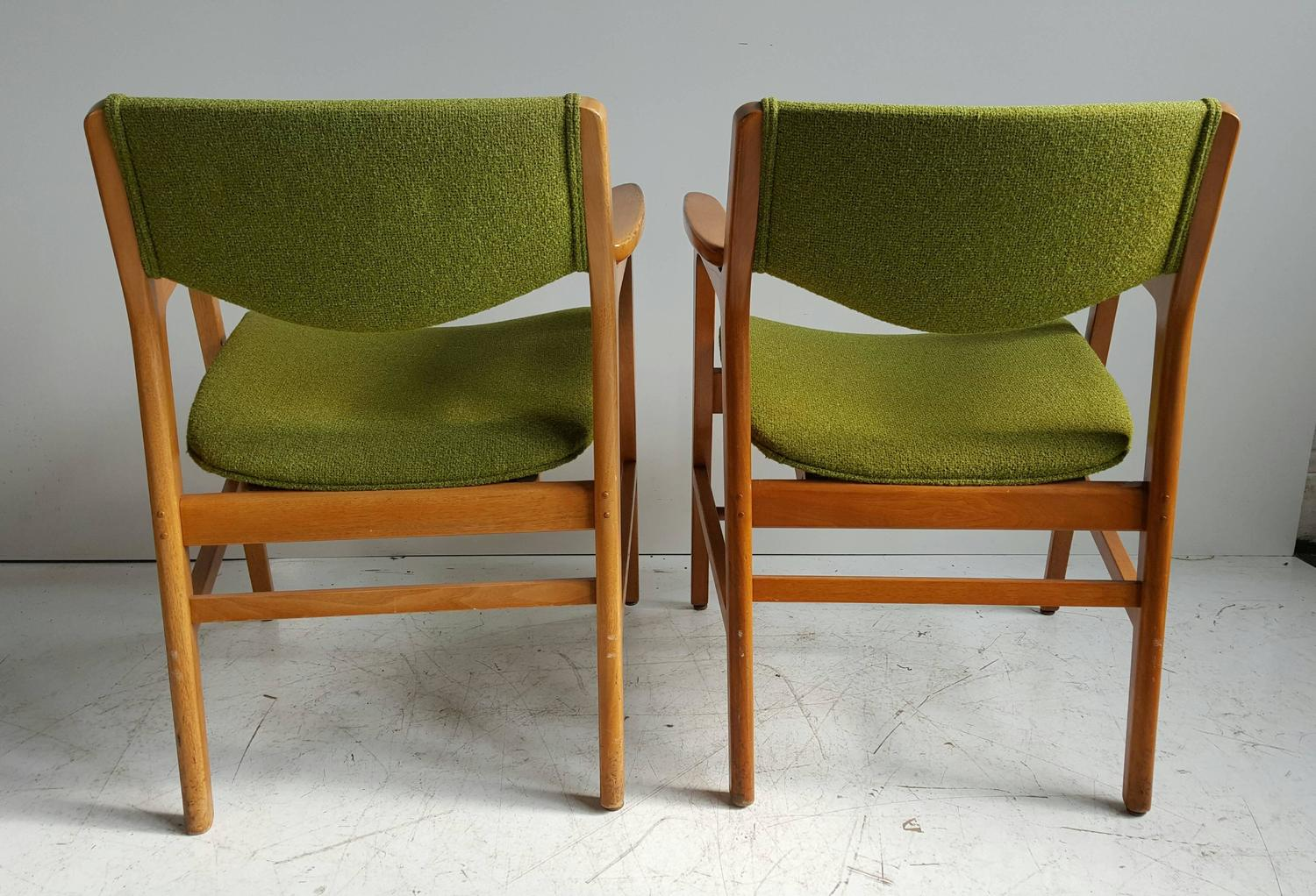 wh gunlocke chair covers hire classic mid century modern armchairs manufactured by w h