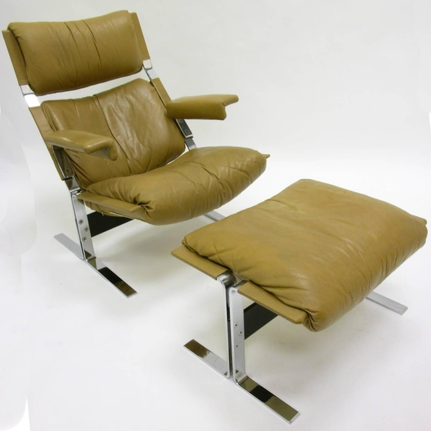 comfy chair and ottoman small bedroom tesco comfortable steel leather lounge by