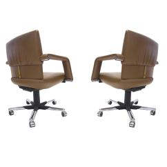 Vitra Office Chair Best For Sewing Room Mario Bellini Leather Swivel And Tilt Executive