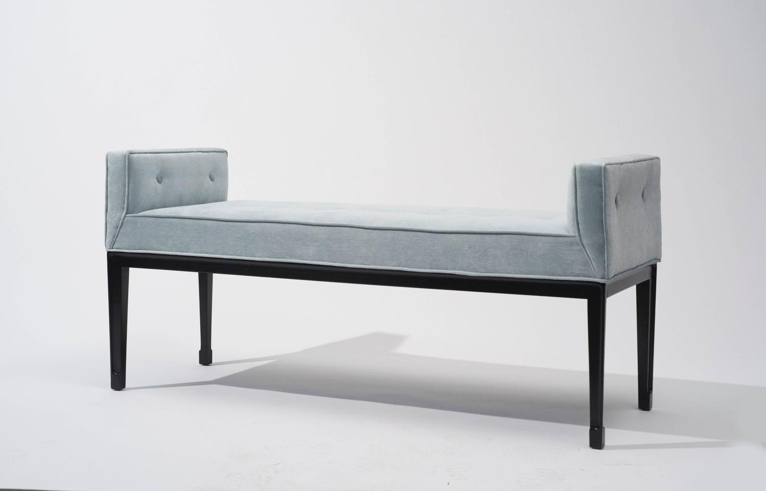 Mid Century Modern Upholstered Bench 1950s At 1stdibs