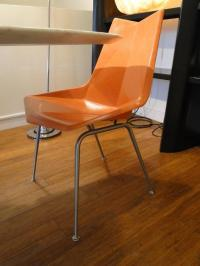 1950s Paul McCobb Fiberglass Origami Chairs For Sale at ...
