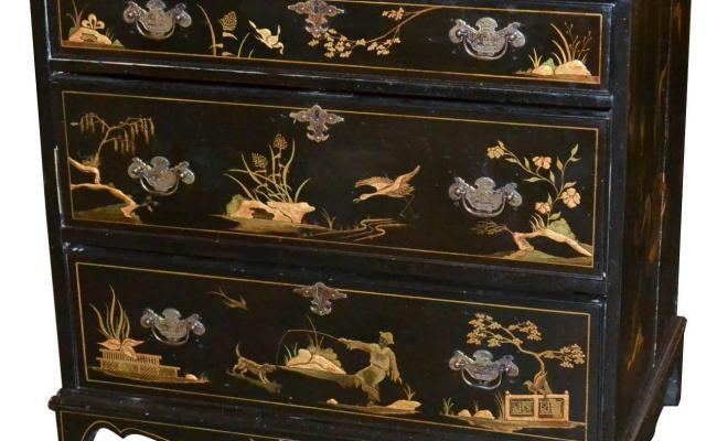 19th Century English Chinoiserie Chest For Sale At 1stdibs