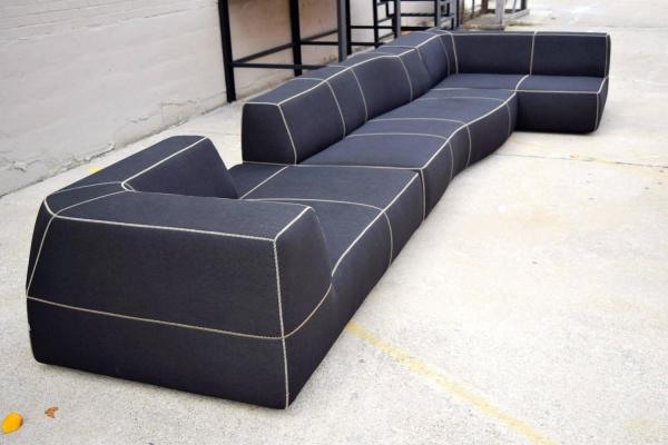 The B and B Italia Bend Sofa