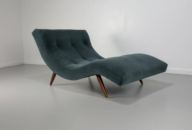 adrian pearsall rocking chair large circle undulating