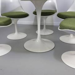 Tulip Table And Chairs Ikea Poang Chair Replacement Parts Eero Saarinen By Knoll Newer