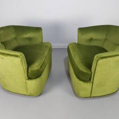 Green Velvet Swivel Chair Banquet Chairs Cheap Lounge In With Polished Bronze