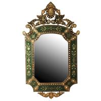 Venetian Glass Mirror, circa 1900 at 1stdibs