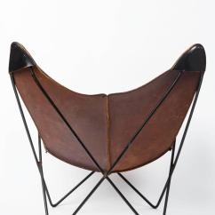 Butterfly Lounge Chair Darlington Covers Bishop Auckland Leather By Jorge Ferrari Hardoy For Knoll