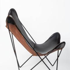 Butterfly Lounge Chair Bouncy Walmart Leather By Jorge Ferrari Hardoy For Knoll