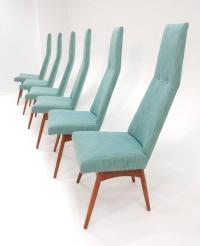 Mid-Century Modern Adrian Pearsall Tall Back Dining Chairs ...