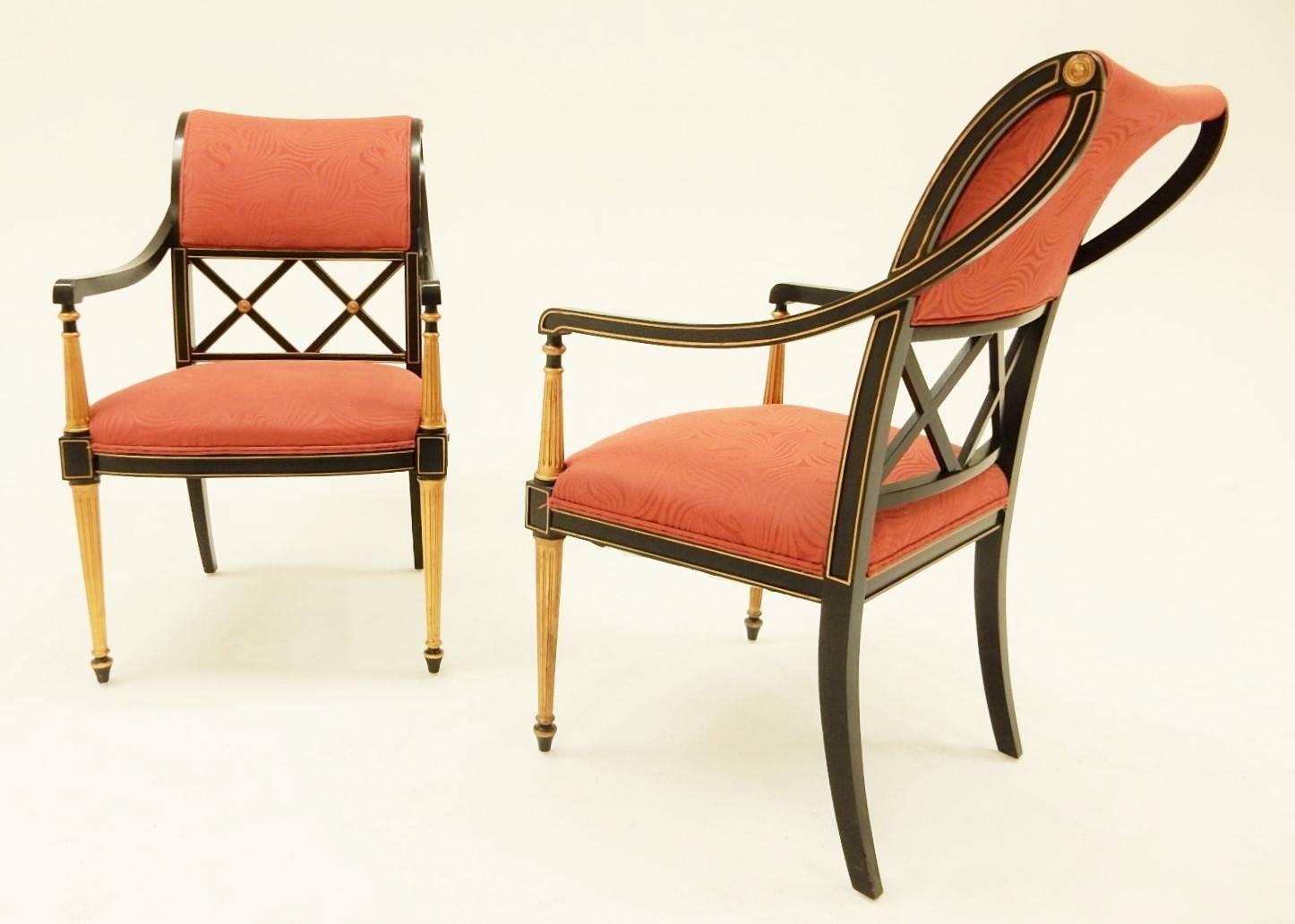 henredon chairs dining room small bedroom nursing chair set of 12 dorothy draper design for regency