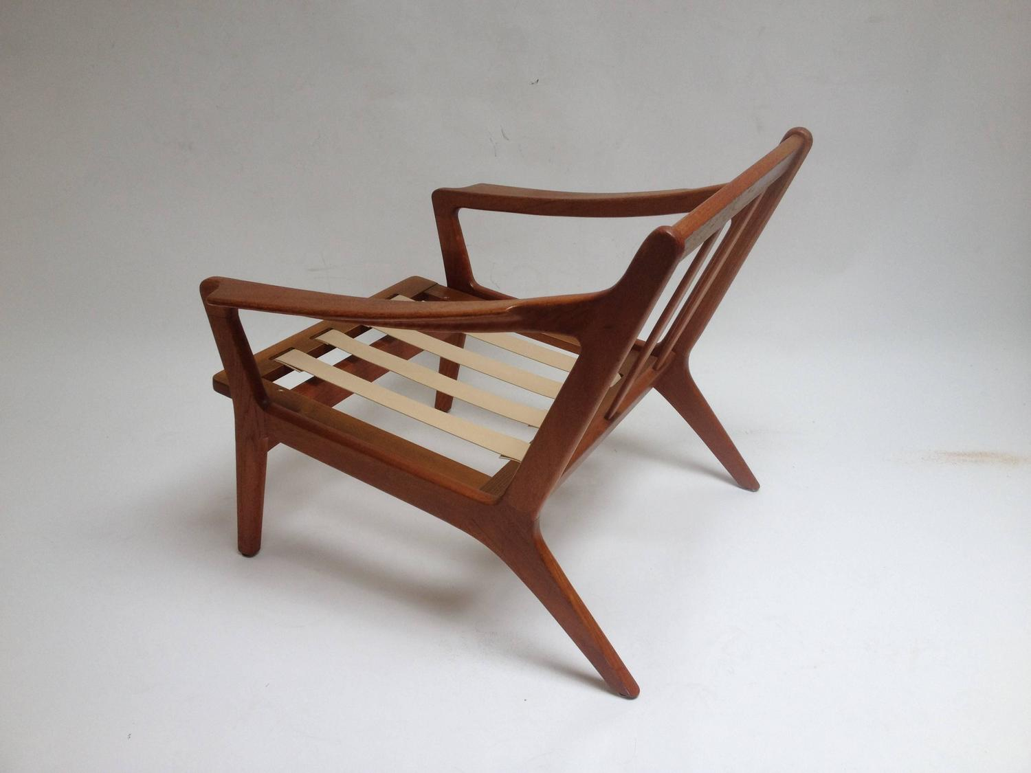 teak folding chairs canada sure fit wing chair slipcovers mid century modern danish easy designed by arne