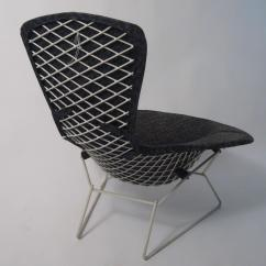 Bertoia Style Chair White Office Carpet Protector Uk Harry Bird For Sale At 1stdibs