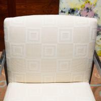 Mid-Century Modern Chrome Armchair For Sale at 1stdibs