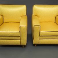 Mid-Century Modern Club Chairs For Sale at 1stdibs