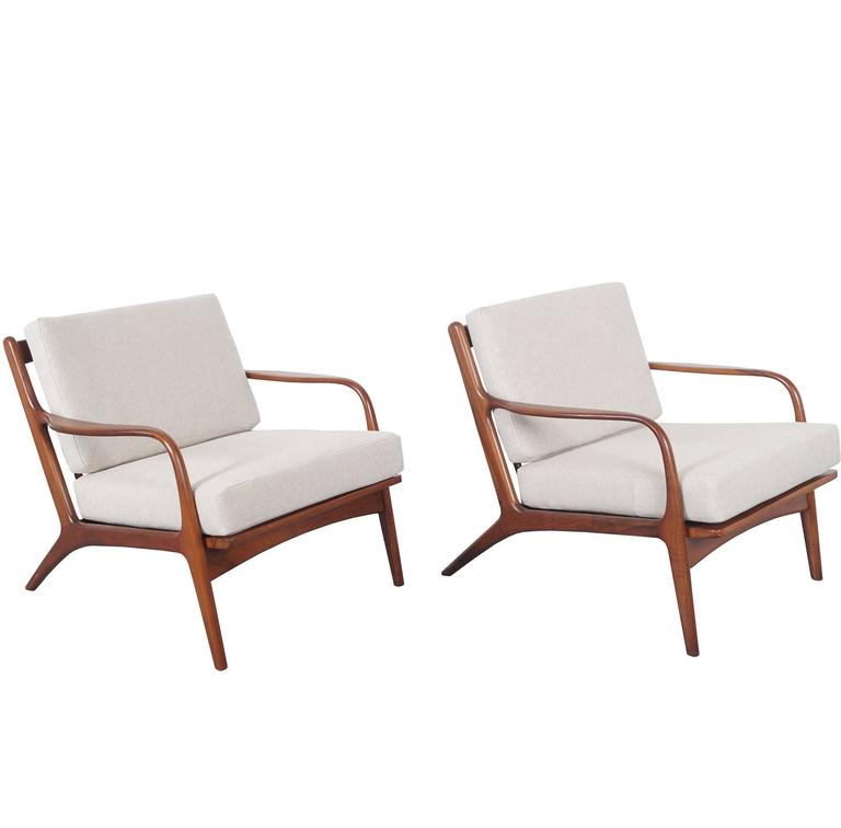adrian pearsall lounge chair inexpensive beach chairs vintage walnut by for craft associates sale
