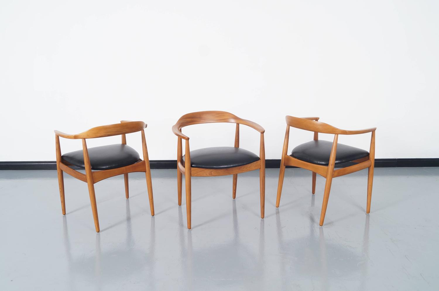 danish modern dining chair duncan phyfe chairs by niels eilersen for sale at