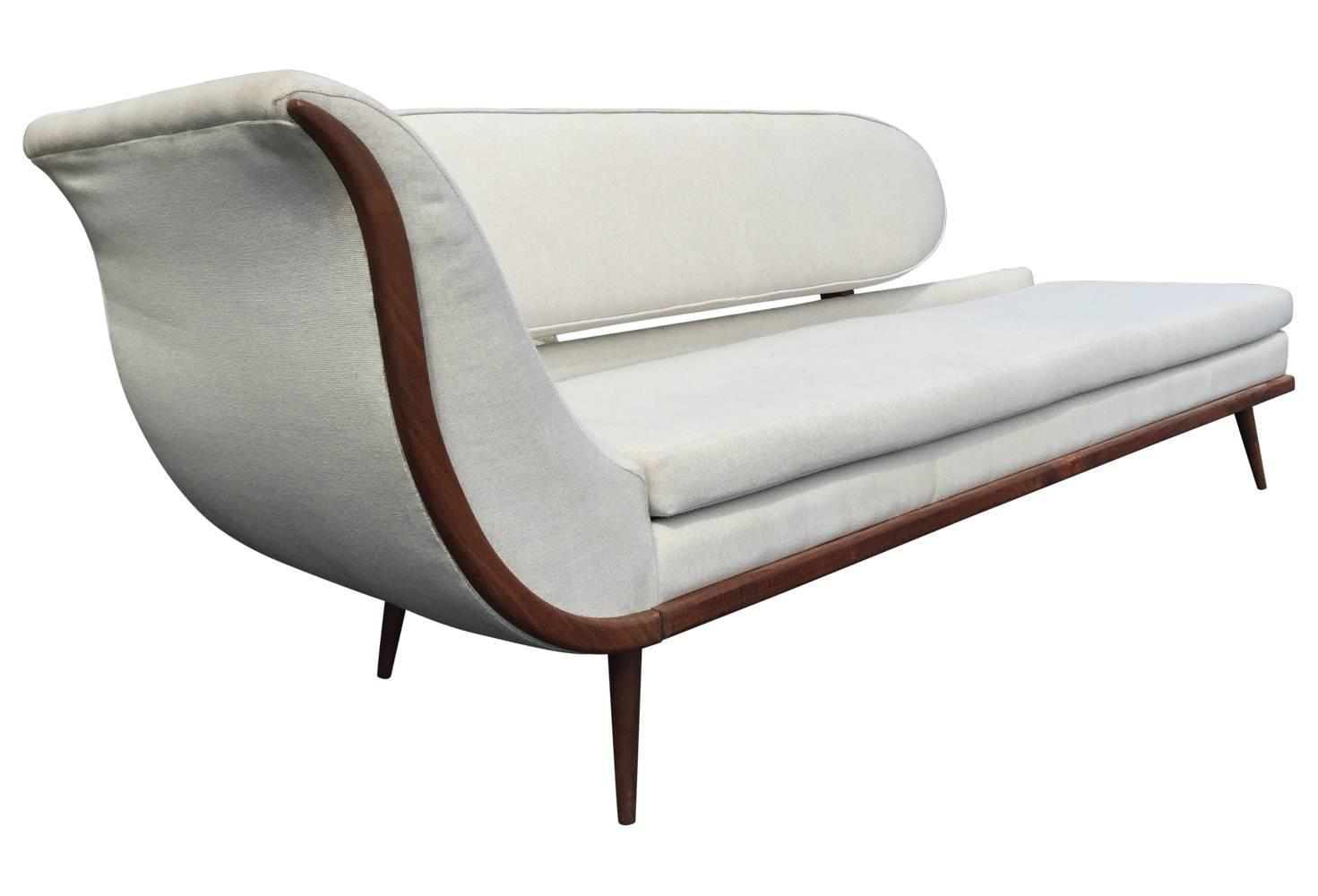 mid century style sofa canada microfiber sofas pros and cons exquisite modern settee by cimon of