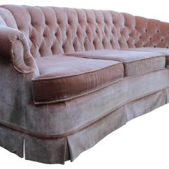 Pink Tufted Sofa For Sale Quality Sofas In Bangalore 1960s Velvet Chesterfield At 1stdibs