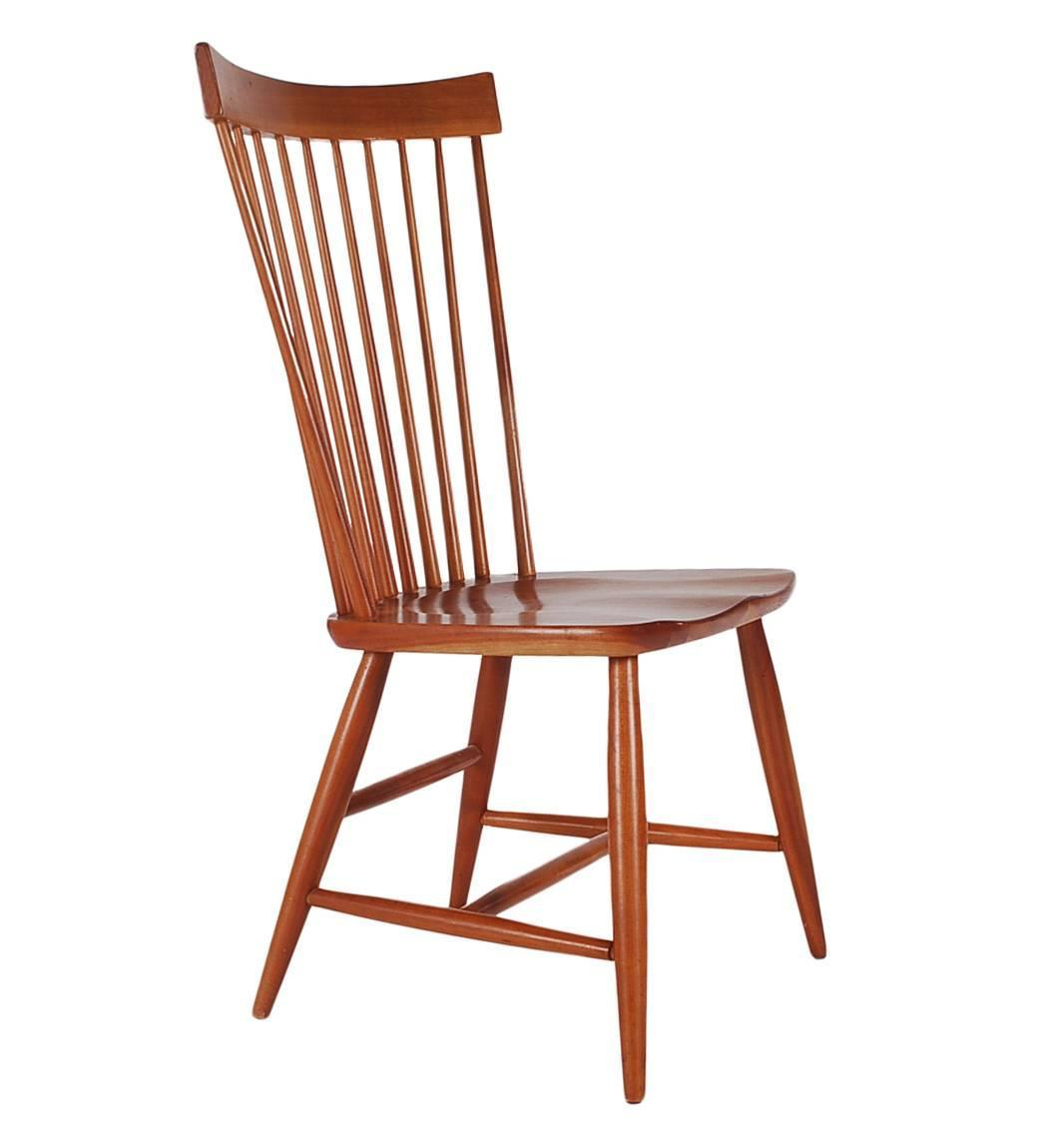 windsor back chairs for sale chair covers sure fit set of six mid century modern tall spindle