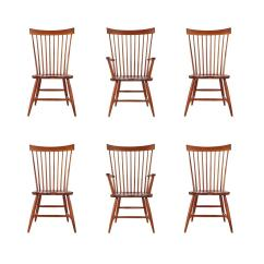 Windsor Back Chairs For Sale Bath Chair Lift Elderly Set Of Six Mid Century Modern Tall Spindle