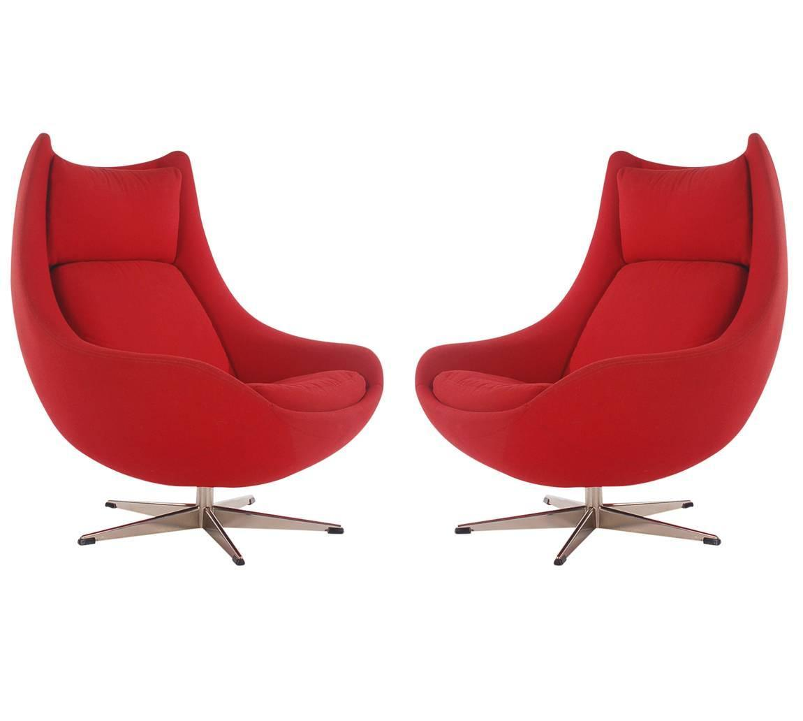 mid century egg chair party chairs for sale wholesale danish modern lounge by h w klein