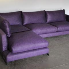 Purple Sofas For Sale Contemporary Loveseats Flexform Quotlong Island Quot L Shape Sofa In And Black
