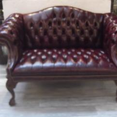English Roll Arm Sofa Furniture Decoro Leather Sectional Cordovan Camel Back Settee At 1stdibs