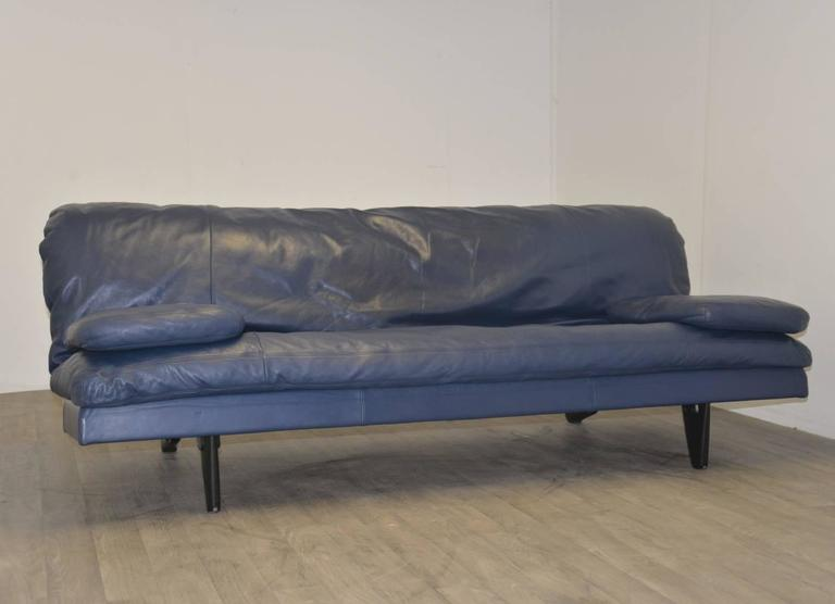 de sede sofa vintage wing furniture daybed and sofa, 1970s at 1stdibs