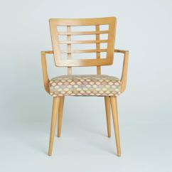 Maple Dining Room Chairs Tall Bistro Table And Outdoor 1950s American Modern At 1stdibs