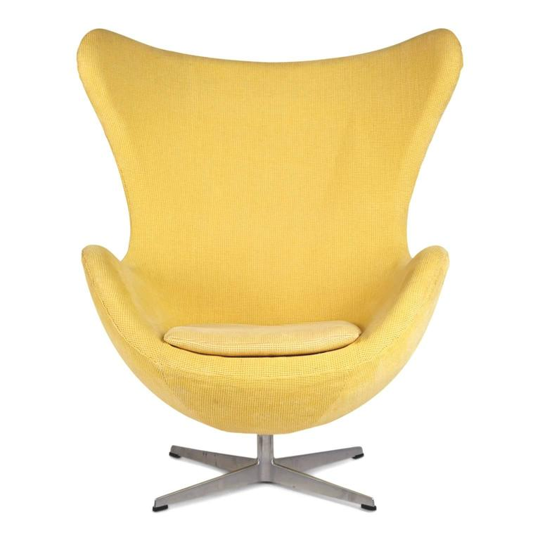 egg chairs for sale folding table with inside arne jacobsen fritz hansen model 3316 and footstools scandinavian modern