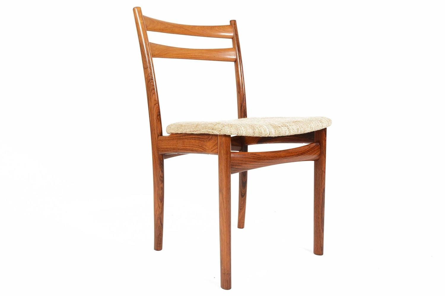skovby rosewood dining chairs what s a chair bed set of six møbelfabrik for