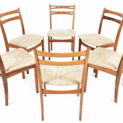 Skovby Rosewood Dining Chairs Black Skull Chair Set Of Six Møbelfabrik For