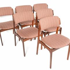 Erik Buck Chairs Diner Table And Set Of Six Model 49 Dining In Rosewood