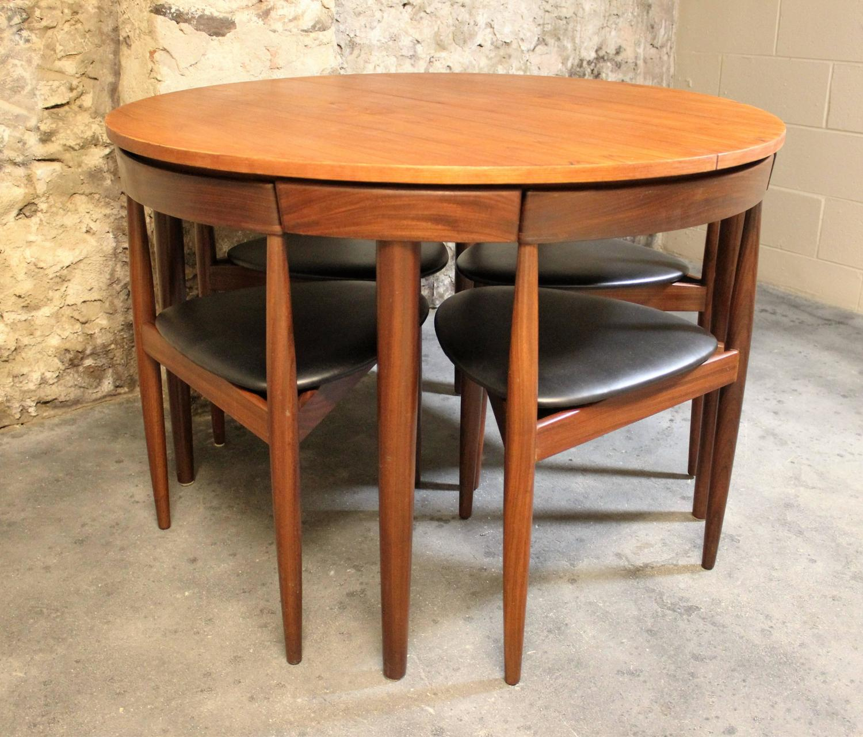 teak folding chairs canada pier one hans olsen roundette dining room set for frem rojle