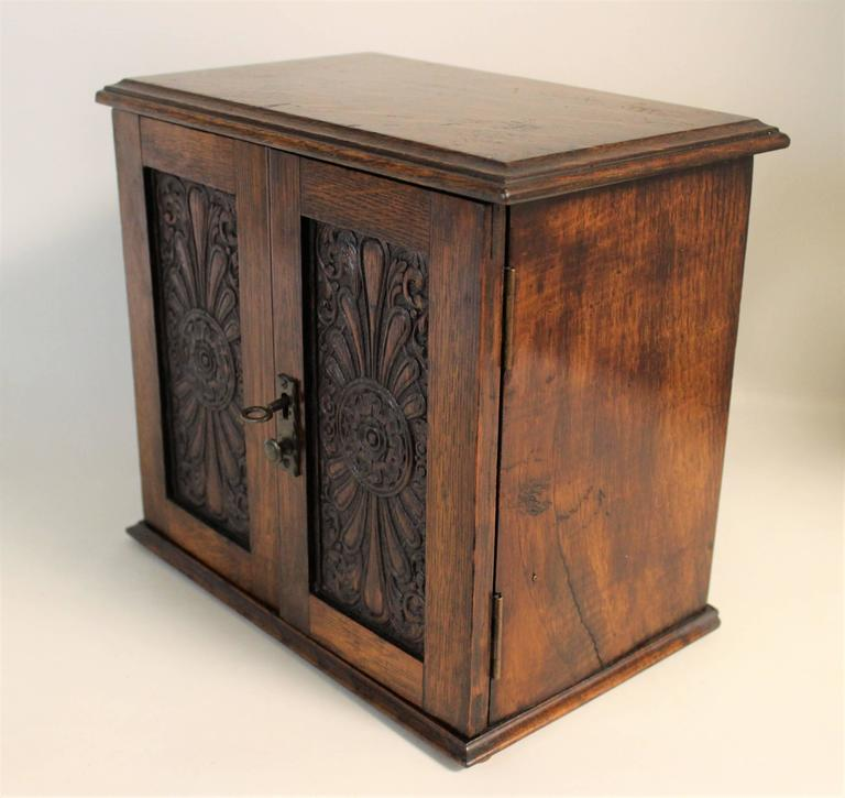 Edwardian Smokers Cabinet For Sale at 1stdibs