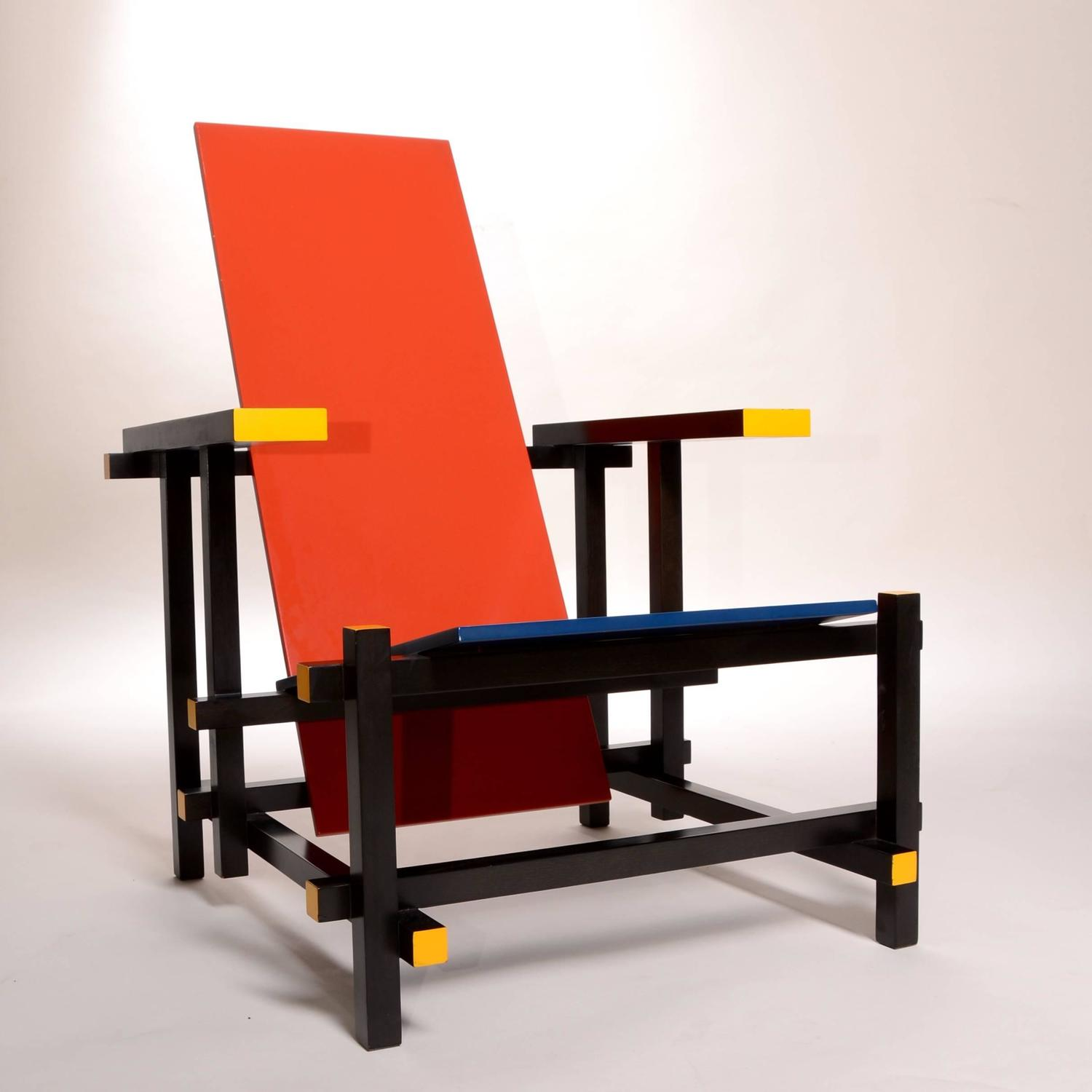 red blue chair gym vs nano and by thomas rietveld for cassina sale