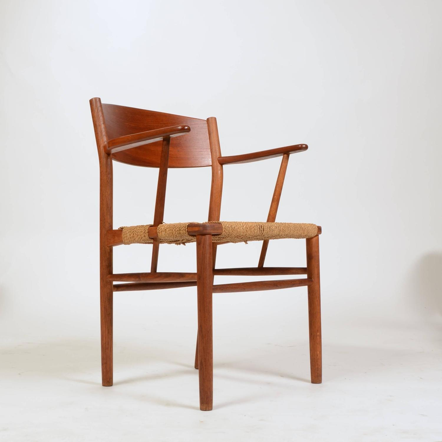 Seagrass Dining Chair Set Of Eight Børge Mogensen Seagrass Dining Chairs