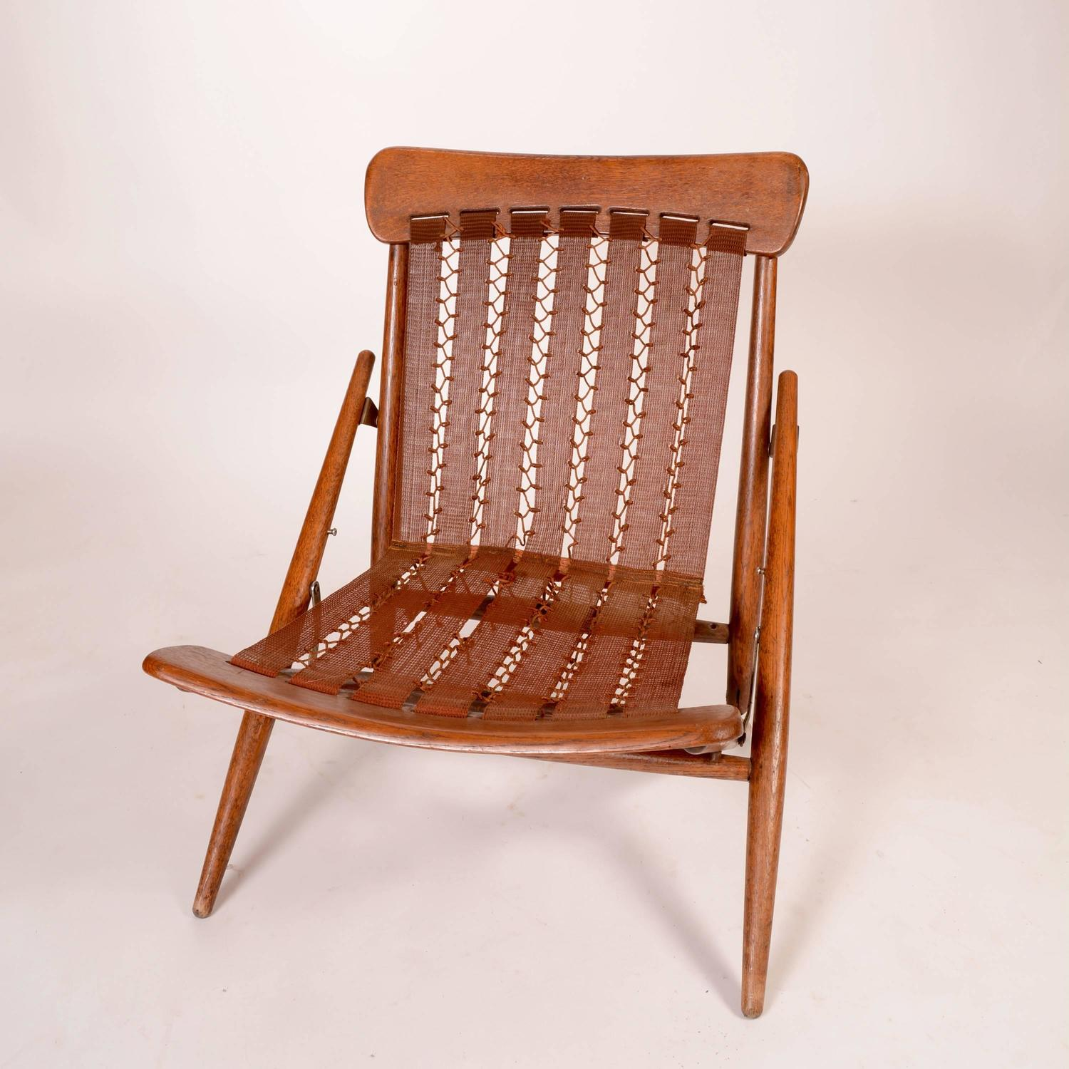 teak folding chair grosfillex madras lounge chairs danish and leather side for sale at 1stdibs