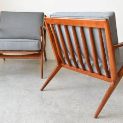 Z Chair Mid Century Office For Carpet Pair Of Original Poul Jensen Chairs By Selig Circa 1960 At 1stdibs Modern