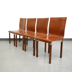 Industrial Dining Chair Desk For Teenage Girl Set Of Four Leather Emile Modern Chairs