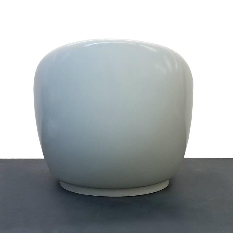 Oversized Fiberglass Egg Indoor Outdoor Mid