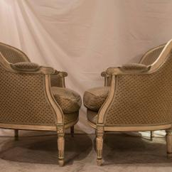 Hickory Chair Louis Xvi Outdoor Recliner Target Pair Of Style French Bergere Chairs For Sale At