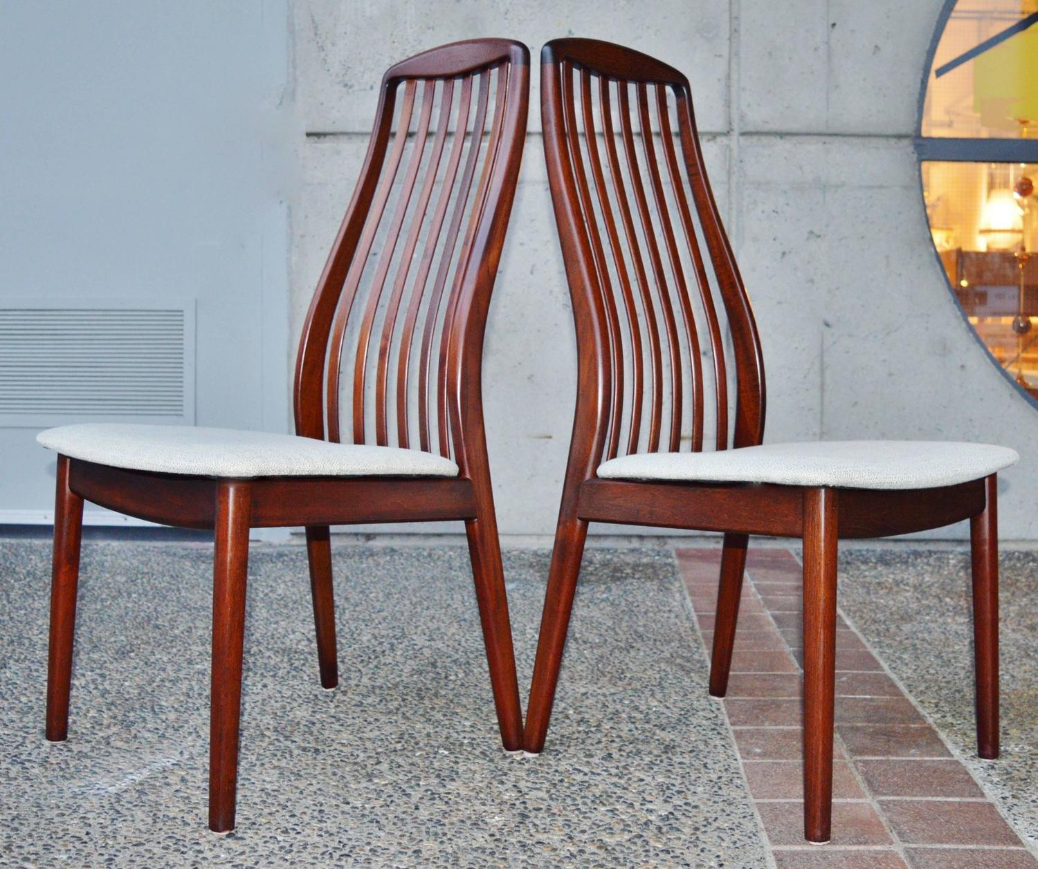 skovby rosewood dining chairs navy blue leather chair and ottoman danish set by for sale at 1stdibs