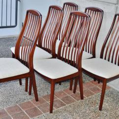 Skovby Rosewood Dining Chairs Diy Recliner Chair Danish Set By At 1stdibs