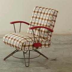 Swingasan Chair For Sale Reading Patio Swivel And Swing On Steel Base 1940s